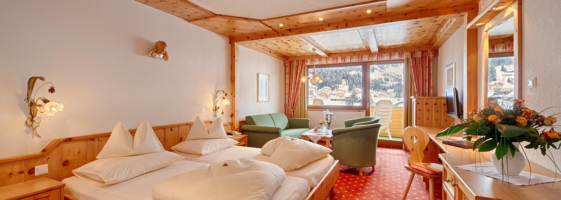 Camere di legno cirmolo a Bad Kleinkirchheim : una sana dormita