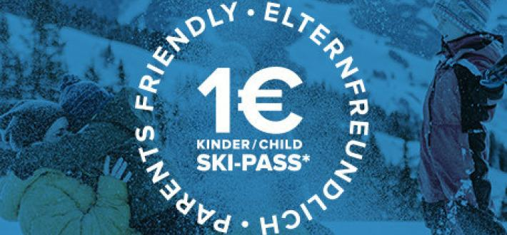Parent friendly disco: Kid's ski pass for only €1